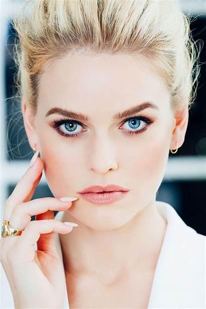 Alice Eve Photoshoot Eyes Hair Actress Brown