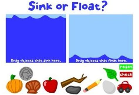 float or sink science pinterest