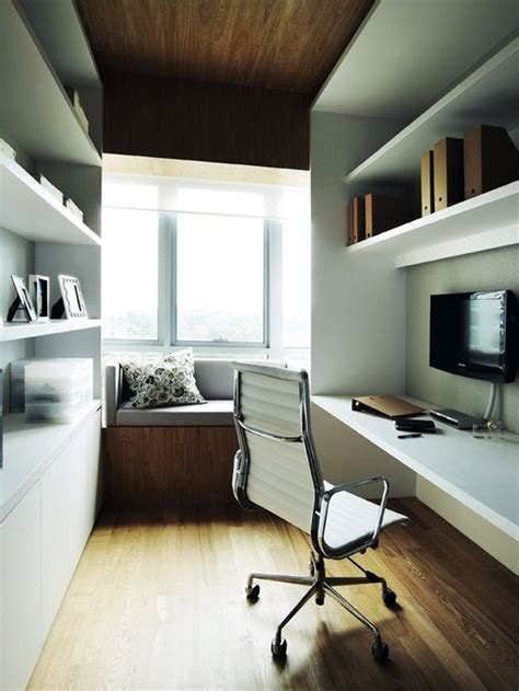 narrow office how to decorate and furnish a small study room