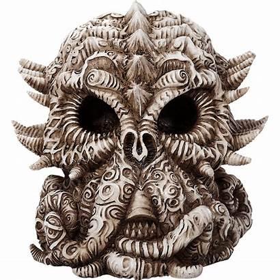 Cthulhu Skull Statue Lovecraft Decoration Bone Figurine