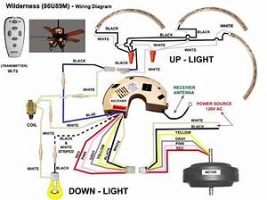 20 Images Hunter Ceiling Fan Wiring Diagram With Remote