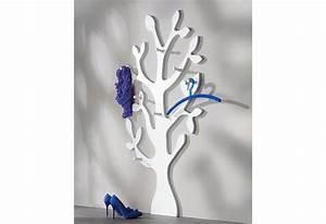 Baum Als Garderobe : wandgarderobe baum mit 7 haken in vielen verschiedenen farben aus fsc zertifiziertem mdf ~ Buech-reservation.com Haus und Dekorationen