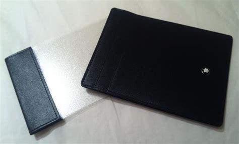 Mont Blanc Pocket Wallet Id Card Holder Tumi Business Card Organizer Name Font Origami Golfer Office Depot Holder Online Create Free Printing Order Personalised Nz Kinkos