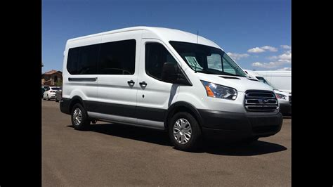 ford transit  ecoboost  passenger walkaround