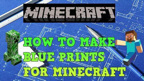 blueprints  minecraft youtube