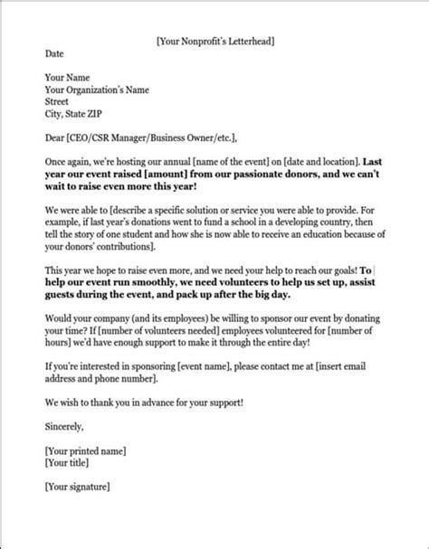 sample letter   volunteers printable receipt