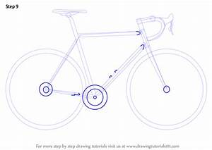 Learn How To Draw A Bike  Two Wheelers  Step By Step
