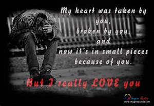 Broken Heart Boy Wallpapers With Quotes