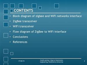 Wireless Sensor Networks Using Zigbee And Wifi