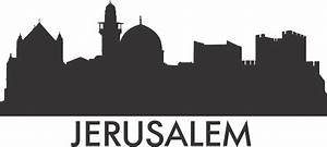 PrintWallArt Jerusalem Skyline