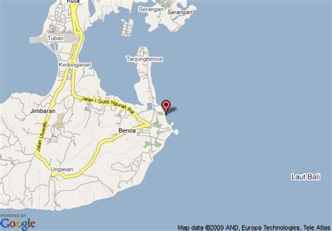 map  ramada resort benoa bali benoa