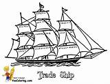 Coloring Ship Ships Pages Boat Tall Sailing Boys Drawing Toy Boats Yescoloring Template Printable Sky Drawings Print Transport Designlooter Getdrawings sketch template