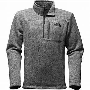 The North Face Mens Jacket Size Chart The North Face Gordon Lyons 1 4 Zip Sweater Men 39 S