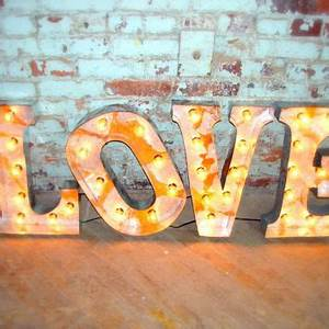 marquee letter broadway style love 18 from With 18 inch marquee letters