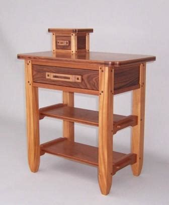 greene greene custom  table finewoodworking