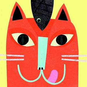 CAT FACE   illustration   Pinterest
