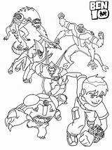 Ben Coloring Pages Boys sketch template