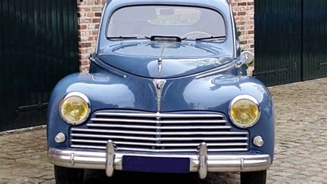 peugeot models by year peugeot 203 model year 1949 youtube