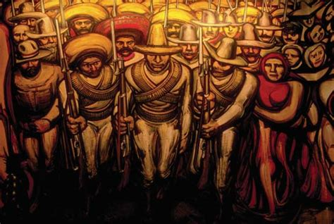 David Alfaro Siqueiros Murals by Siqueiros Jose David Alfaro Quot The Soldiers Of Zapata