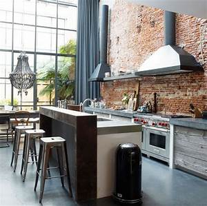 Get the look - modern industrial kitchens