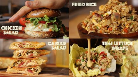 what to do with chicken 5 creative ways to use leftover rotisserie chicken youtube