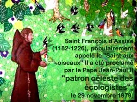 vie de franois d assise quot le sermon aux oiseaux quot fran 231 ois d assise un pigeon sous la protection de st fran 231 ois
