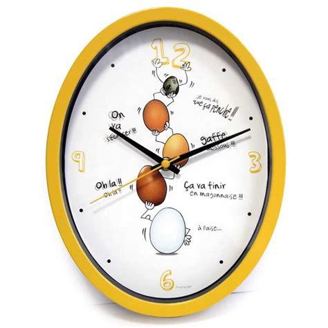 horloges cuisine horloge cuisine quot ludik quot jaune