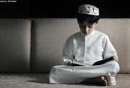 Little Girl Reading Quran