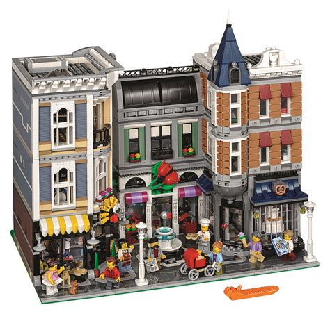The 4,002 Piece Lego 10255 Assembly Square Is A 10 Year