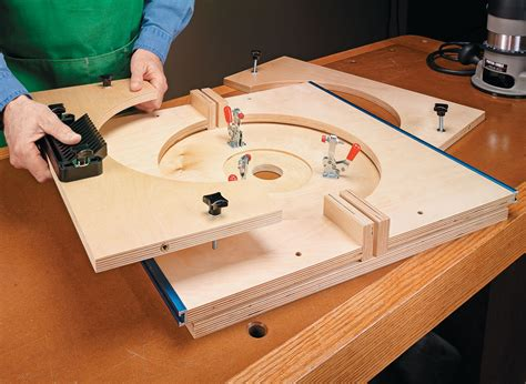 folding router table woodworking project woodsmith plans