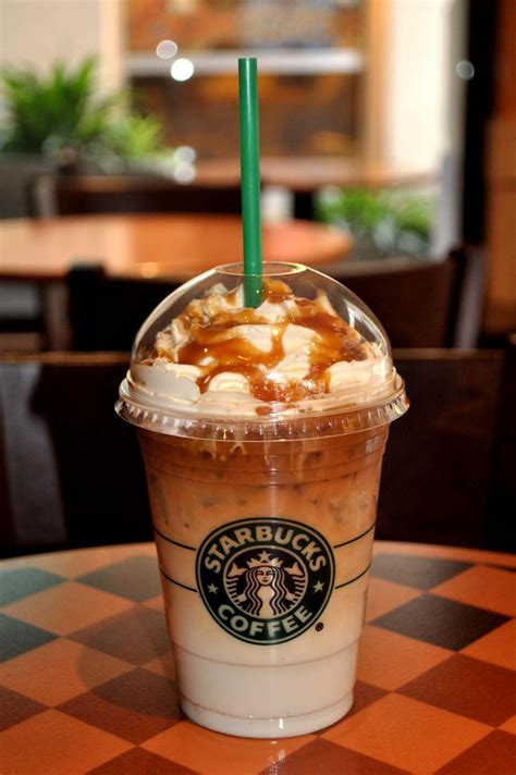 1.5% fat milk (75%), starbucks® arabica coffee (18.2%) (water, coffee extract), sugar (6.5%), caramel flavouring (contains milk), acidity regulator (potassium carbonate), coffee and sugar trade in compliance with fairtrade standards, total 98%, excluding liquid ingredients. Wich drink is thatt plz help #starbucks #drink #white #summer #helpplease #frapuccino