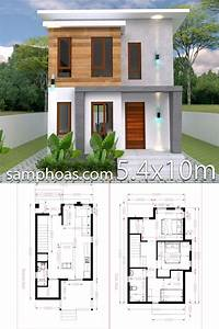 Simple, Three, Bedroom, House, Plan, 2021