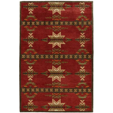 southwest rugs    gatekeeper red ruglone star