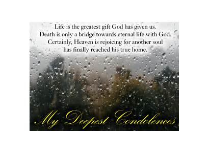 Sympathy Card Condolences Condolence Departed Encouragement Ecards
