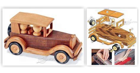 wooden toy car plans woodarchivist