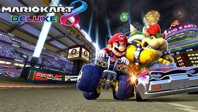 Mario Kart Deluxe Bowser Dark Wallpapers Tricks