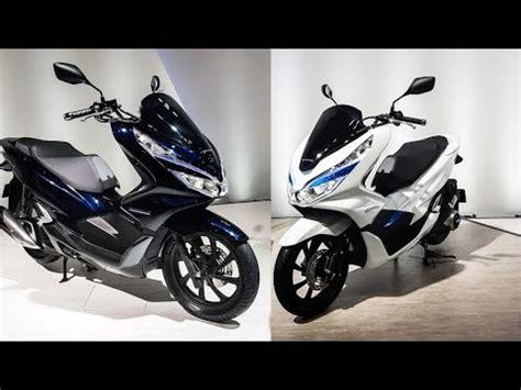 Honda Pcx 2018 Tokyo Motor Show by เป ดต ว 2018 Honda Pcx Hybrid และ Pcx Electric ในงาน Tokyo
