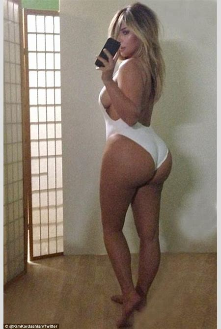 Kim Kardashian's Instagram swimsuit photo receives backlash   Daily Mail Online