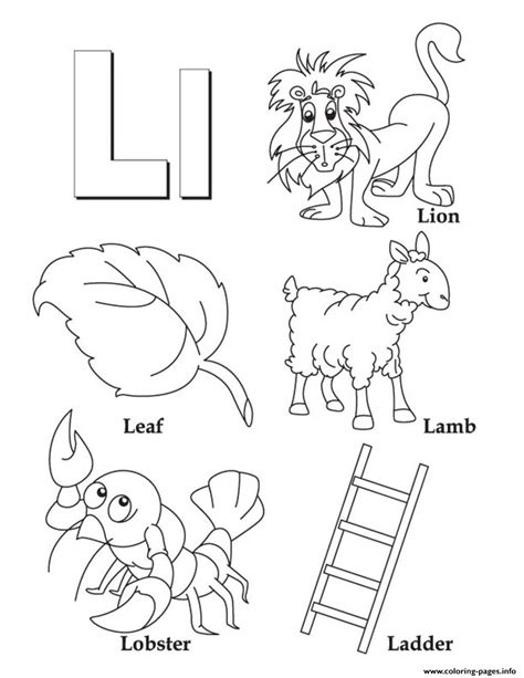 color that starts with an s alphabet s free words of lb9e1 coloring pages printable