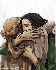 Frigga and Loki Fan Art