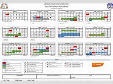 PMMG Calendário escolar 2018