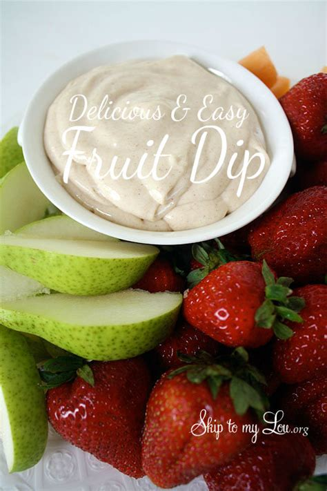 delicious easy dips delicious fruit dip what2cook