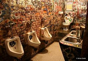 Cbgb to be painstakingly recreated for keynote of cbgb for Punk rock bathroom decor
