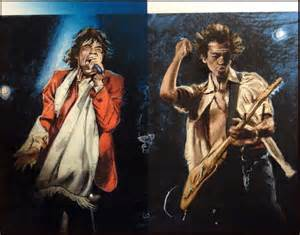 stray cat blues ronnie wood stray cat blues sold out artwork framed print
