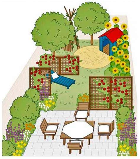 Schmale Gärten Gestalten schmale g 228 rten breiter wirken lassen mein sch 246 ner garten