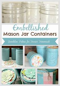 Chalk Paint Mason Jars - Hoosier Homemade