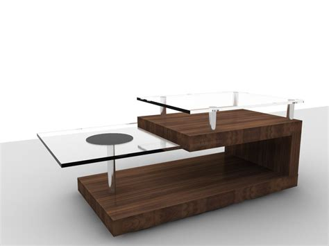 Wohnzimmertisch Holz Modern by Modern Glass And Wood Coffee Table Coffee Tables