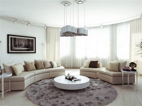canape demi cercle meubles de salon 125 idées de design styles et couleurs