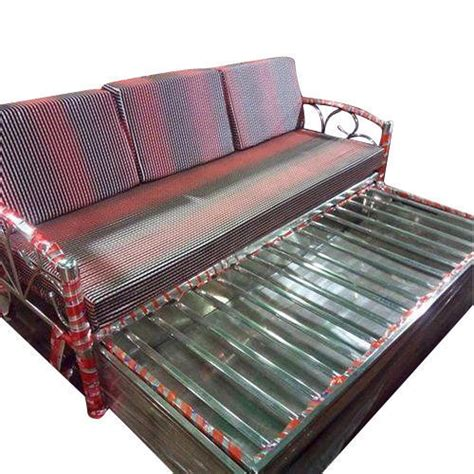 Steel Sofa Bed Price by Standard S S Designer Sofa Bed Rs 17000 Shree