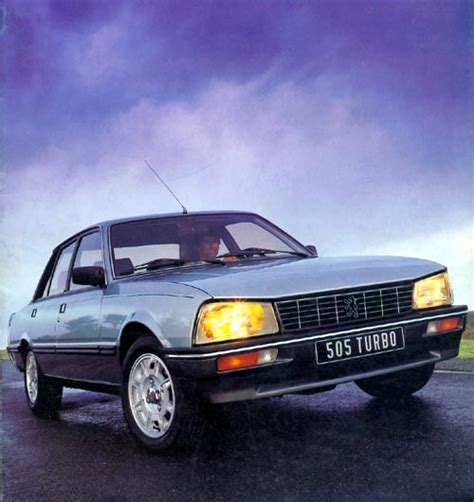 Peugeot 505 Turbo by Peugeot 505 Turbo Injection 1983 1989 Guide Occasion